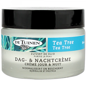 De Tuinen Tea Tree Dag- en Nachtcrème