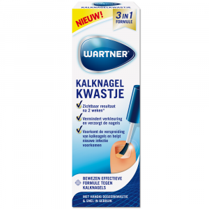 Wartner Kalknagelkwastje 3-in-1 formule