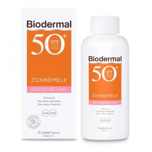 Biodermal Zonnemelk Gevoelige Huid (SPF50+)