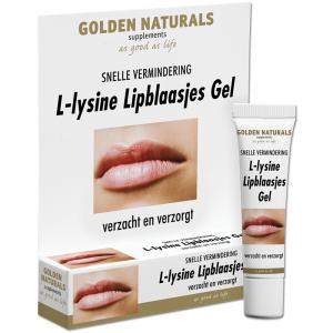 Golden Naturals L-Lysine Lipblaasjes Gel