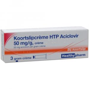 Healthypharm Koortslipcrème (Aciclovir)