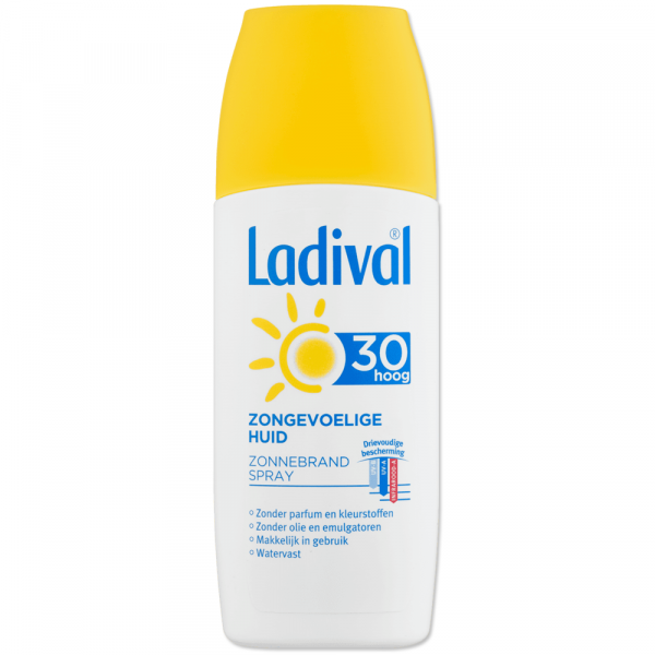 Ladival Zongevoelige Huid - Zonnebrand Gel (SPF30)