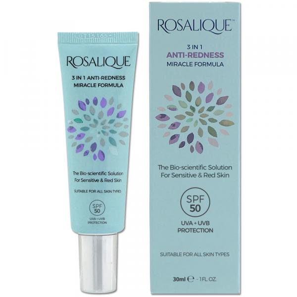 Rosalique 3-in-1 Anti-Redness Miracle Formula Gezichtscrème