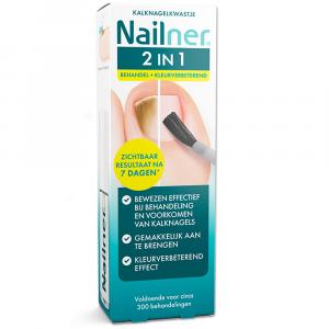 Nailner 2 in 1 Kalknagelkwastje